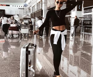 airport, goals, and holiday image