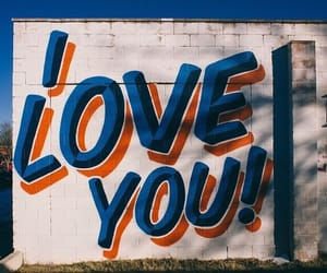 indie, blue, and I Love You image