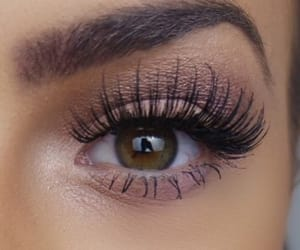 makeup, eyes, and eyelashes image
