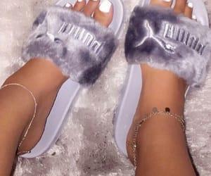 puma, nails, and shoes image
