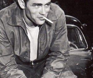 james dean, vintage, and cigarette image
