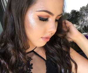 awesome, glitter, and makeup image