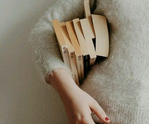 bibliophile, pale, and books image