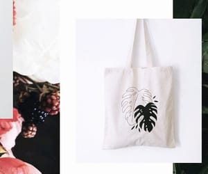 aesthetics, green, and shopping bag image
