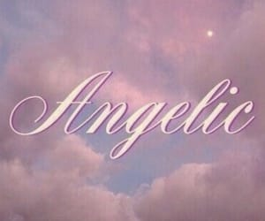 aesthetic, angelic, and pink image