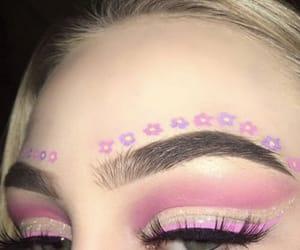pink, make up, and girl image