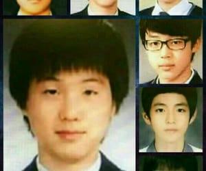 jin, yoongi, and namjoon image