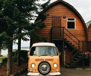 house, car, and vintage image