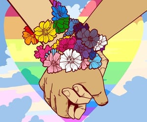 lgbt, pride, and rainbow image