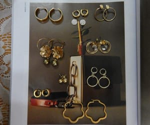 earrings, jewerly, and style image