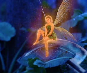 movie, peter pan, and tinker bell image