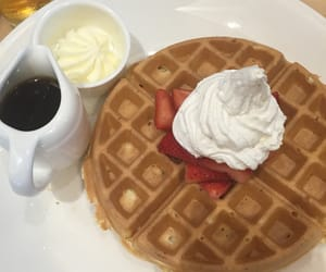 breakfast, yum, and food image