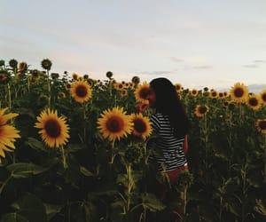 dark, flowers, and folk image