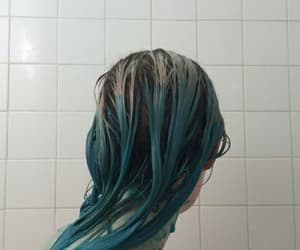 aesthetic, blue, and girl image