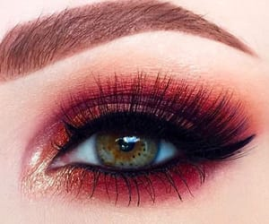 chicas, maquillaje, and cejas image