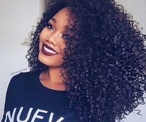 curly, cute, and queeeeen image