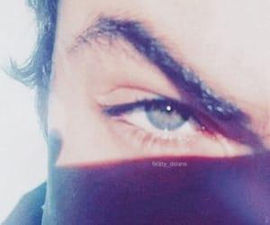 blue, deep, and eyes image