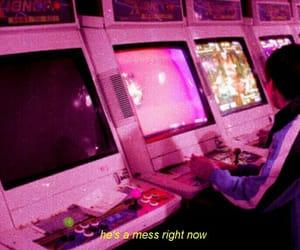 pink, game, and grunge image