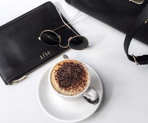 bag, coffee, and drink image