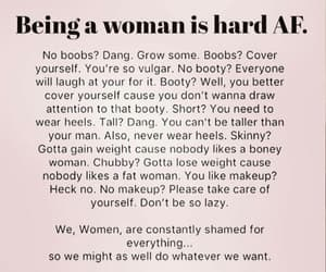 woman, girl, and body image