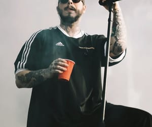 concert, posty, and post malone image