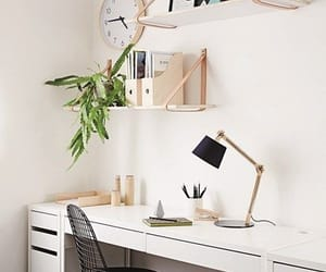 desk, aesthetic, and decor image