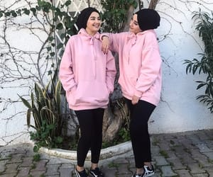 comfy, hijab, and outfit image
