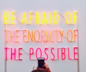 message, neon, and statement image