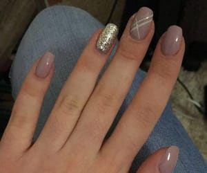 design, glitter, and manicure image