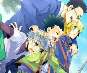 kurapika, leorio, and hunter x hunter image