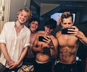 brad simpson, james mcvey, and the vamps image