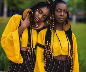africa, blackgirl, and africangirl image