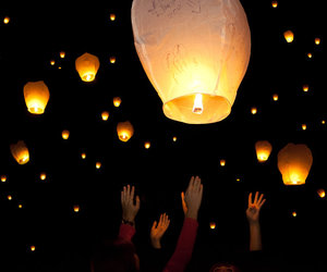 beautiful, cool, and lanterns image