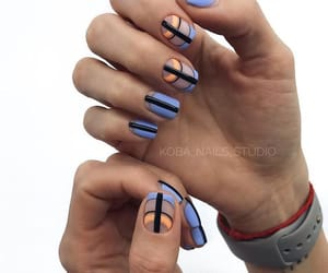 minimalistic and nail art image