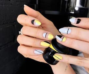 nail and yellow image
