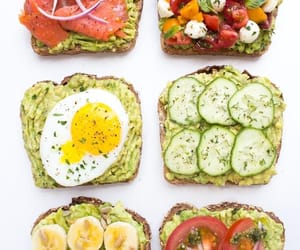 breakfast, healthy, and lunch image