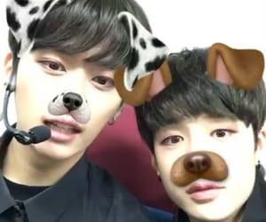 Chan, felix, and Minho image