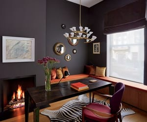 decor, design, and home office image