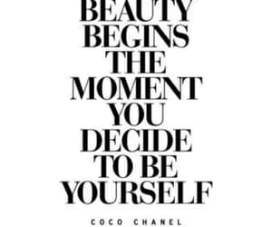 quotes, beauty, and chanel image