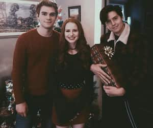riverdale, cheryl blossom, and cole sprouse image