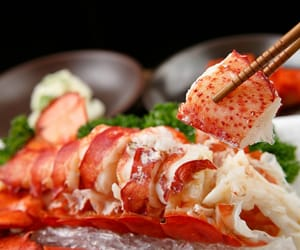 lobster, seafood, and foodporn image