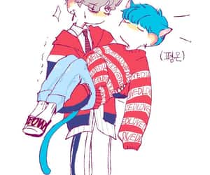 fanart, bts, and taegi image
