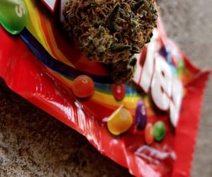 420, skittles, and weed image