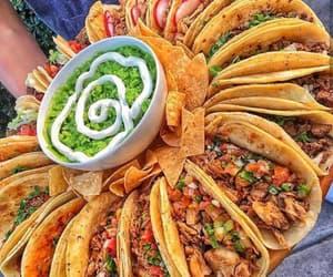 avocado, taco, and delicious image