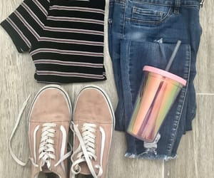 jeans, outfits, and pink image