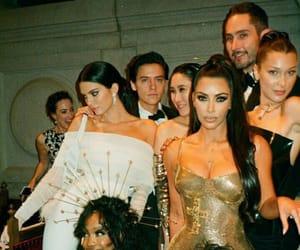 bella hadid, kendall jenner, and kim kardashian image