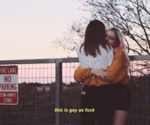 love, girls, and lesbian image