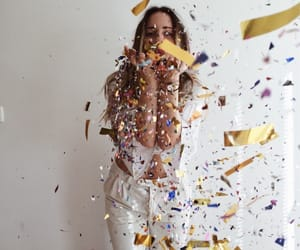 confetti, girls, and photography image
