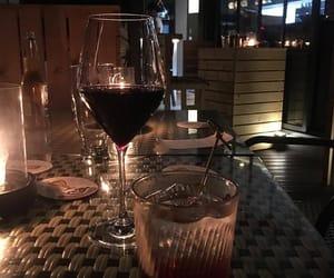 wine, aesthetic, and dark image