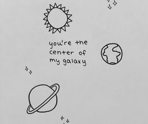 quotes, love, and galaxy image